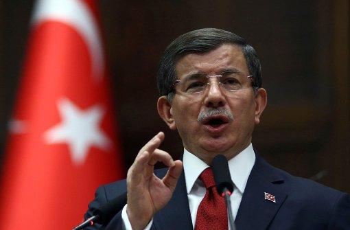 Ministerpräsident Davutoglu tritt zurück
