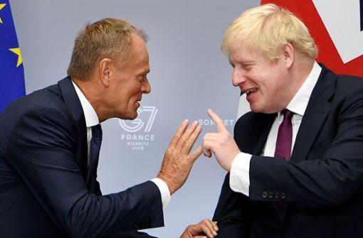 Großbritanniens Premierminister nutzt G7 für Brexit-Gespräche