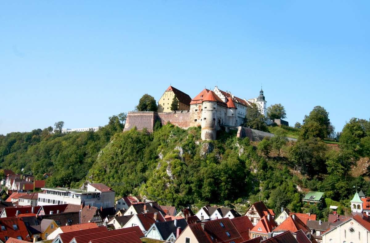 Das Wahrzeichen der Stadt Heidenheim: Schloss Hellenstein Foto: Stadt Heidenheim