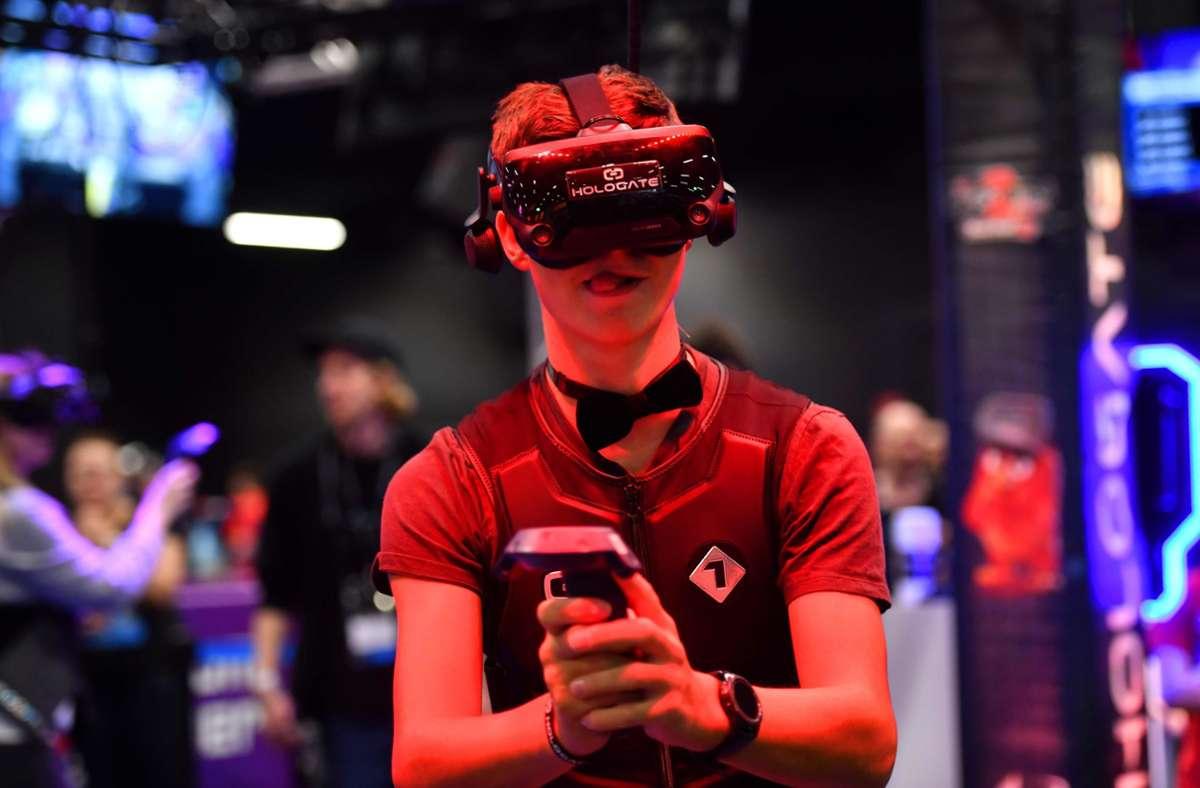 Die Gamescom findet in diesem Jahr nur digital statt. Dennoch bleibt die Frage: Sind Videospiele ein Kulturgut? Foto: AFP/INA FASSBENDER