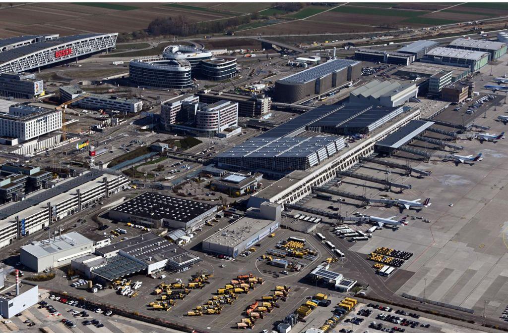 Der Flughafen Stuttgart erzielte 2019 ein Rekordergebnis. Foto: dpa/Uli Deck