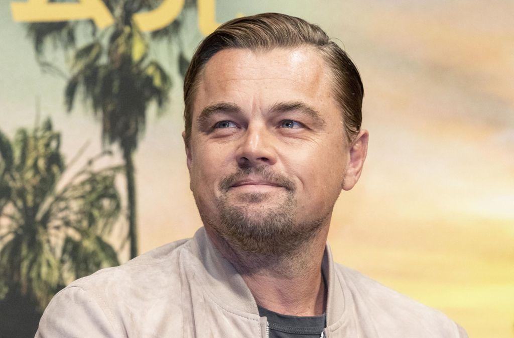 Wieder bei den Hollywood-Preisen ganz vorn dabei: Leonardo DiCaprio Foto: dpa/Rodrigo Reyes Marin