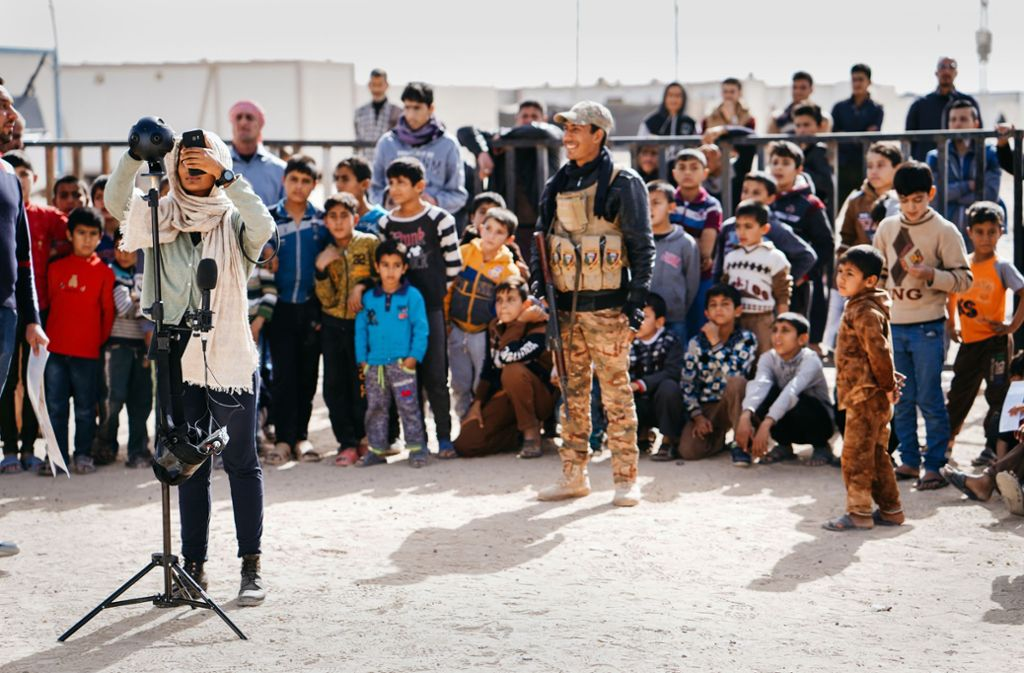 """Gayatri Parameswaran ist für ihr  Projekt """"Home after war"""" in den Irak gereist. Foto: Gaedtke"""