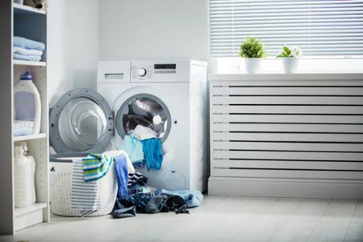 Sonntags Wäsche waschen