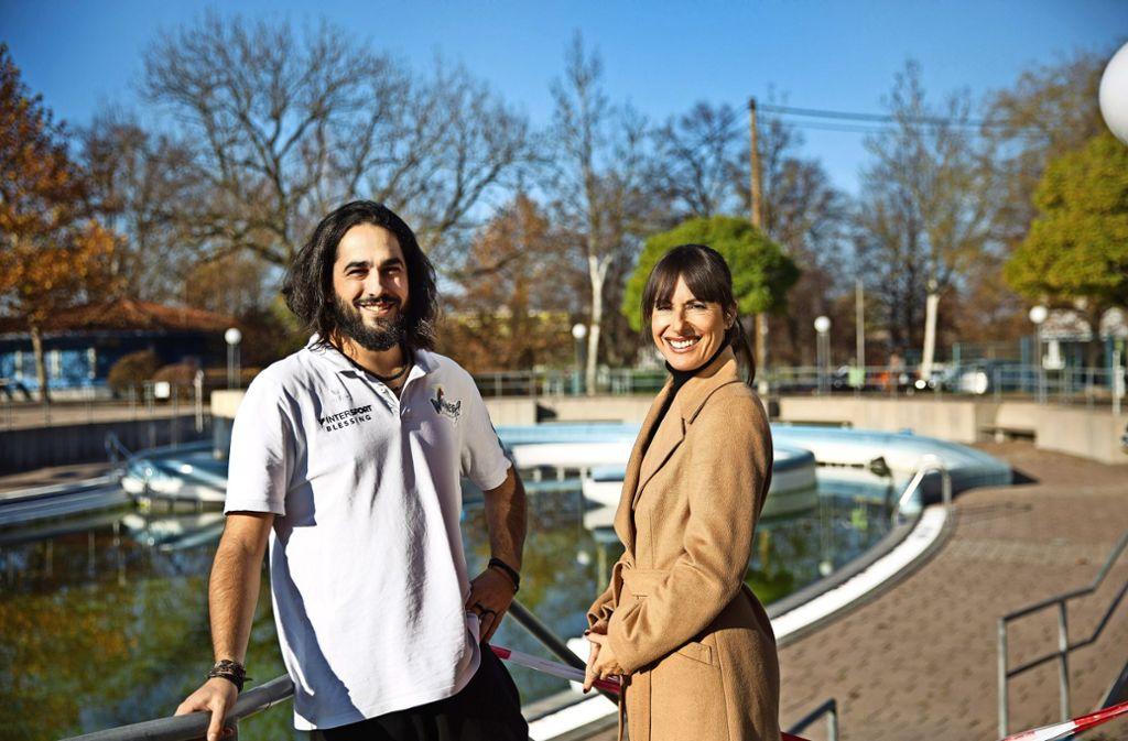 Rubén Barrio Arrea sei ihr  Sorgenkind gewesen, sagt Franka Zanek, die das Winnender Azubi-Projekt gestartet hat. Foto: Ines Rudel
