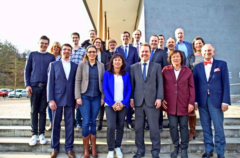 Der neue Vorstand  der  CDU im Kreis Böblinger  ist gewählt. Foto: privat