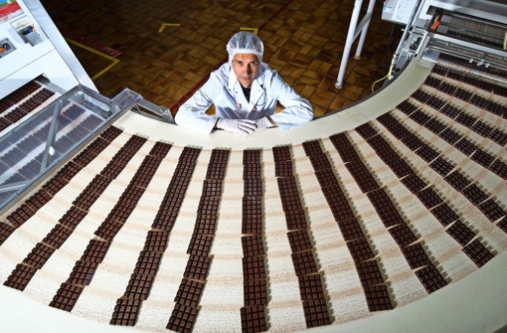 Ritter-Sport-Chef Andreas Ronken gibt  den Ton in der Schokoladenfabrik an. Doch  siezen lässt sich der 48-Jährigen dort nicht Foto: dpa