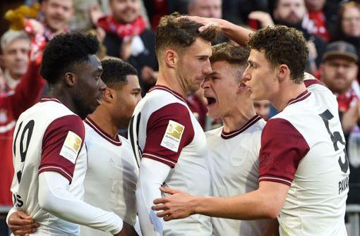 Thomas Müller hält Bayern mit zähem Sieg auf Meisterkurs