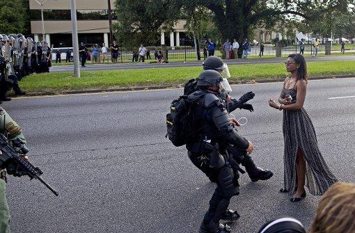 Wie ein Foto zum Symbol für Polizeigewalt wird