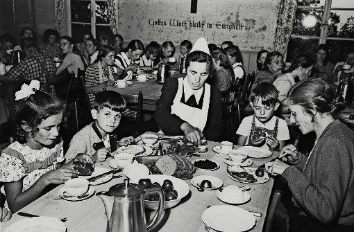 Szene aus Kinderheimen in der Nachkriegszeit Foto: Archiv Verein ehemaliger Heimkinder