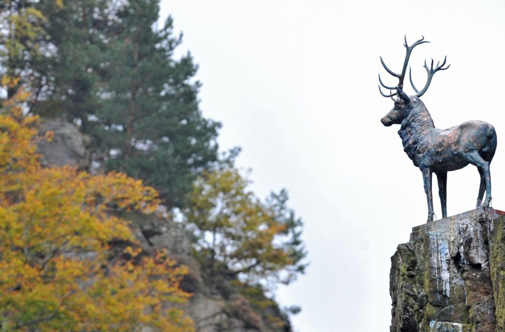 Der Hirschsprung, die schmalste und steilste Stelle des Höllentals bei Freiburg. Foto: dpa
