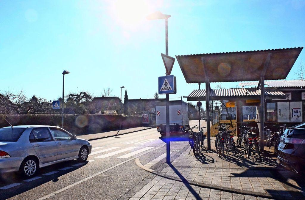 Tempo 30 auf der Steinhaldenstraße soll für mehr Sicherheit sorgen. Foto: Iris Frey