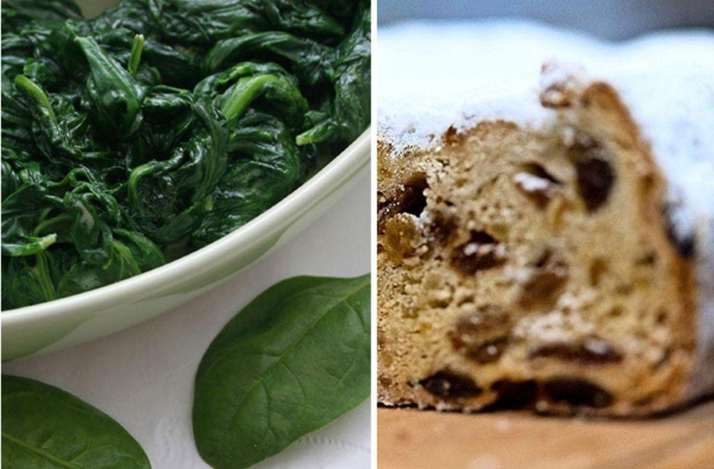 Spinat und Rosinen sind nicht jedermanns Sache. Foto: dpa-Zentralbild