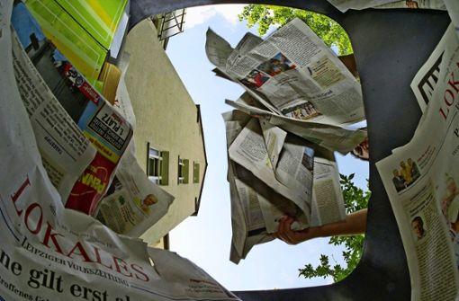Im Alltag mehr auf recyceltes Papier setzen