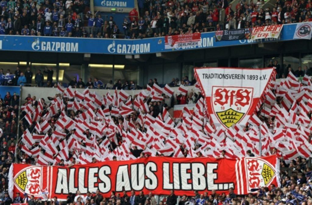 Rot und weiß wird es im Juli auch im Ludwigsburger Foto: dpa