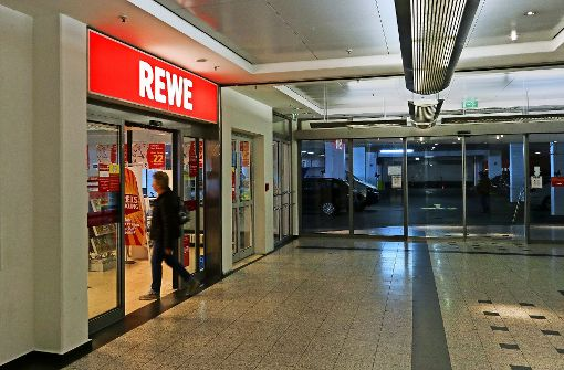 Rewe schließt Laden im City-Center