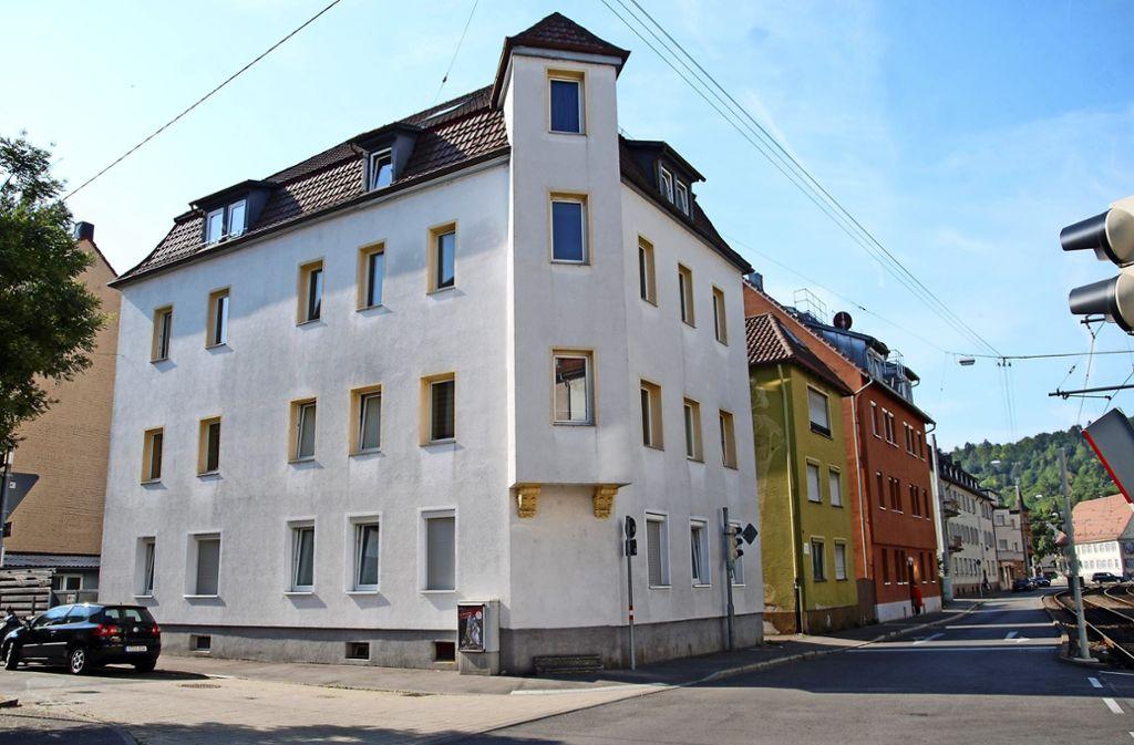 Die Evangelische Gesellschaft möchte  gern das   Haus Wasenstraße 14 für ein sozial betreutes Wohnprojekt anmieten. Foto: Kuhn