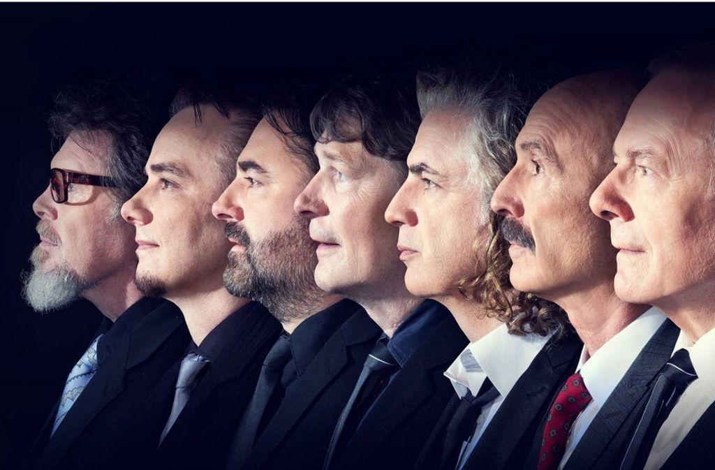Gralshüter hochambitionierter und innovativer Popularmusik: Die britische Band King Crimson will nicht, dass man bei ihren Konzerten fotografiert nicht. Das gilt für die Fans ebenso wie für die Presse. Foto: Veranstalter