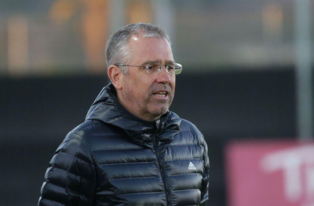 Michael Feichtenbeiner aus Stuttgart ist Trainer der U-17-Nationalmannschaft. Foto: Baumann