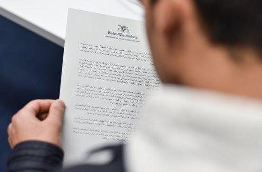 In Heidelberg ist ein Bundeswehr-Reservist nach heiklen Aussagen aus der Flüchtlingshilfe abgezogen worden. Foto: dpa