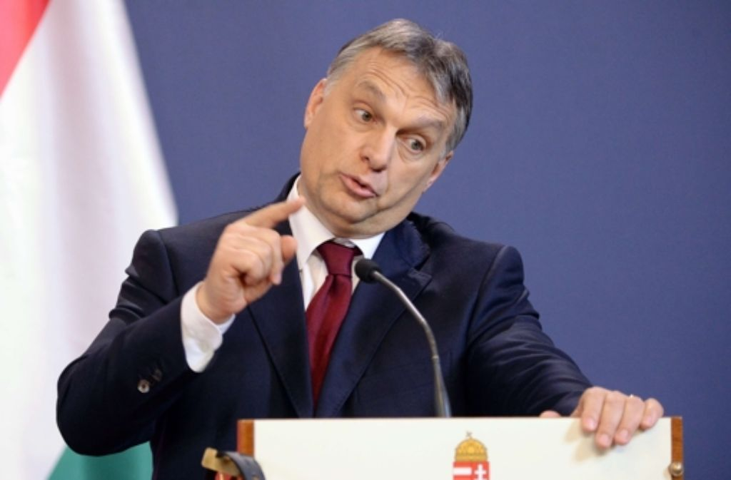 Viktor Orban bringt die EU gegen sich auf. Foto: AFP