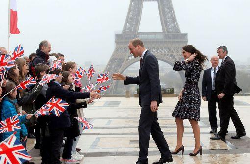 William und Kate zu Besuch in Paris
