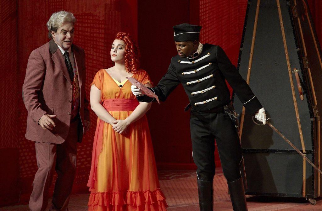 """Diana Haller, hier als Rosina in """"Der Barbier von Sevilla"""" an der Staatsoper Stuttgart. Foto: A.T.Schaefer"""