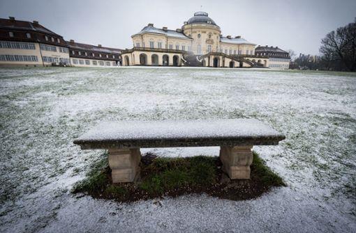Ein Hauch von Schnee zum 1. Dezember