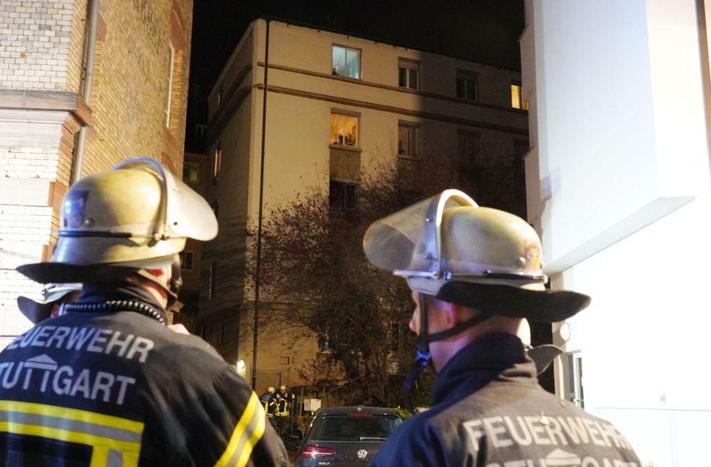 Eine 62-jährige Frau überlebte den Brand an der Forststraße nicht. Foto: Andreas Rosar/Fotoagentur-Stuttg