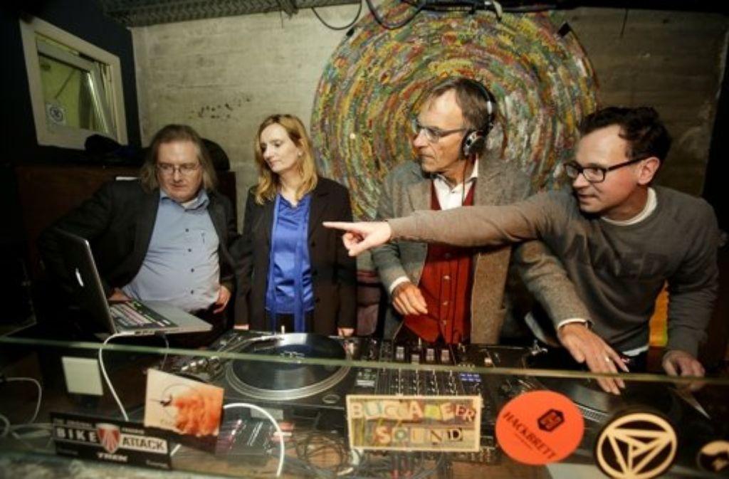 Stadtkind Martin Elbert hat die drei Nachwuchs-DJs unterrichtet. Foto: Archivfoto: Lichtgut/Leif Piechowski