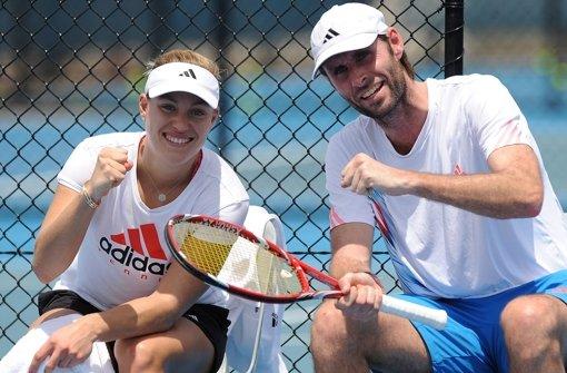 Torben Beltz trainiert Angelique Kerber schon seit Jugendtagen. Foto: