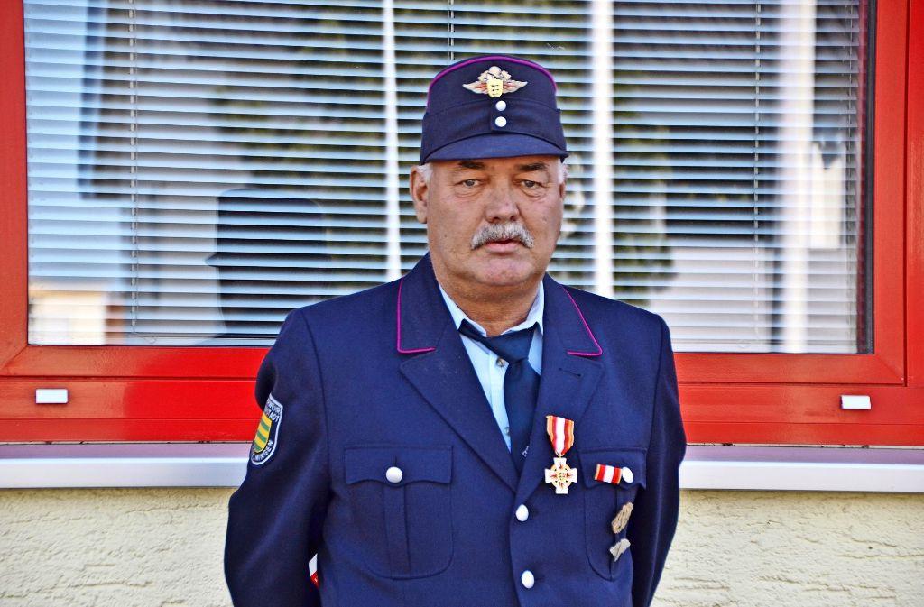 Bernhard Späths Laufbahn bei der Feuerwehr begann 1966. Foto: Fatma Tetik