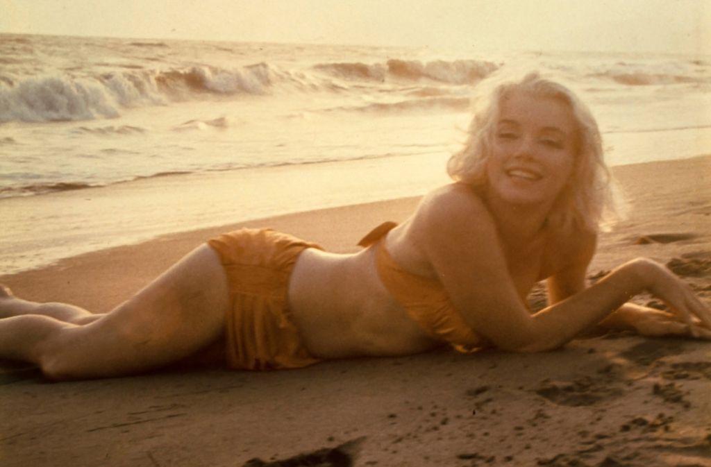 Eine der letzten Aufnahmen von Marilyn Monroe, entstanden 1962. Foto: dpa
