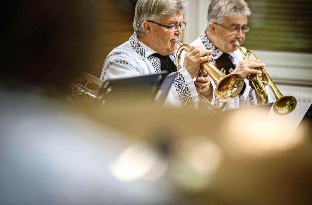 In der Blaskapelle der  Siebenbürger Sachsen spielen die Mitglieder aus unterschiedlichen Motivationen heraus mit. Foto: Gottfried Stoppel