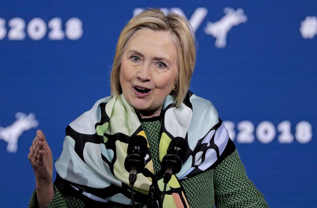 Die AfD muss die falsche Behauptung korrigieren, wonach Hillary Clinton von der Bundesregierung finanziell im Wahlkampf unterstützt worden sei. Foto: AP