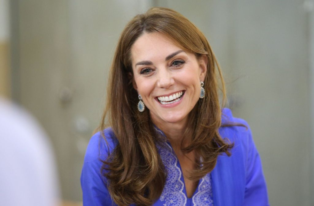 Herzogin Kate heißt mit Geburtsnamen Catherine Elizabeth Middleton. Foto: dpa/Ian Vogler