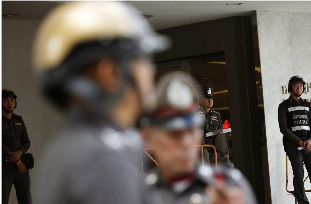 In Thailand ist es zu mehreren Bombenexplosionen gekommen Foto: EPA