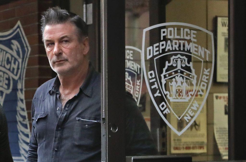 Baldwin soll damals einen 49 Jahre alten Mann geschlagen haben. Foto: AP