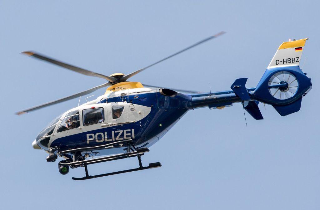 Gegen den 21-Jährigen wurde nach der Laser-Attacke auf einen Polizeihubschrauber eine Anzeige wegen gefährlichen Eingriffs in den Luftverkehr erstattet.(Symbolbild) Foto: dpa-Zentralbild