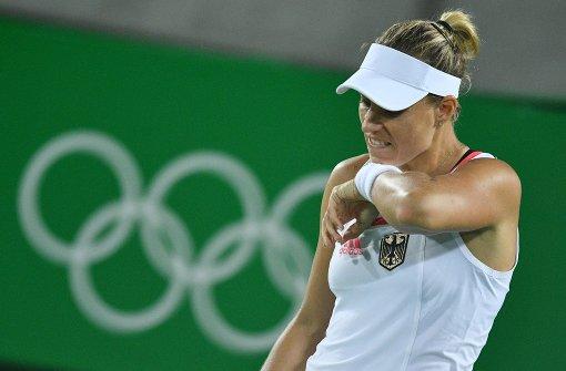 Angelique Kerber holt Tennis-Silber