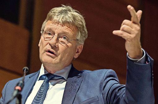 Jörg Meuthen zieht es nach Brüssel
