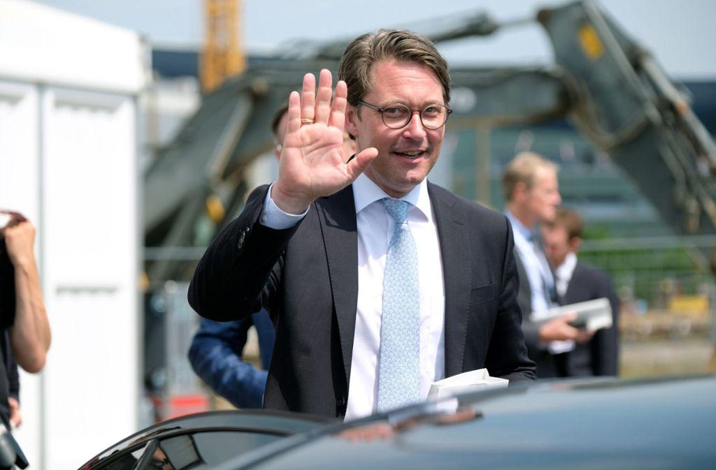 Verkehrsminister Andreas Scheuer (CSU) lehnt Hardware-Nachrüstungen für Diesel-Pkw an. Foto: dpa