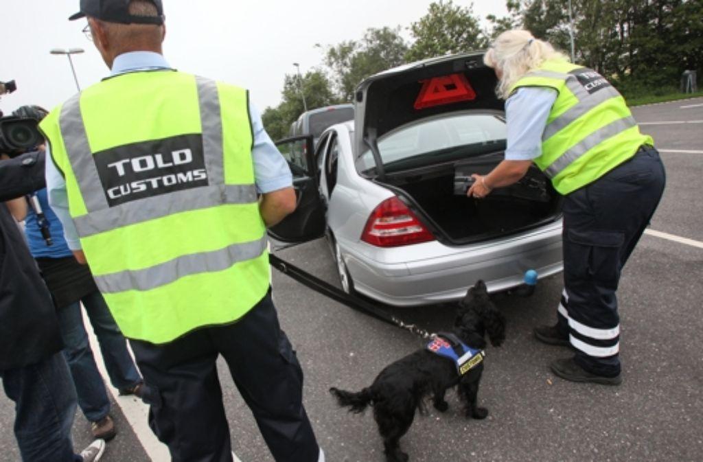 Beispiel Dänemark: 2011 wurden plötzlich wieder Grenzkontrollen eingeführt. Foto: dpa