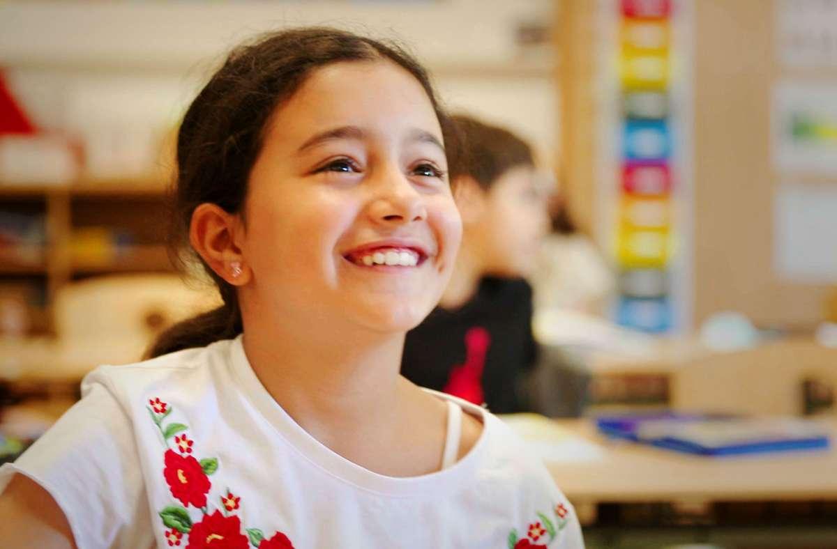"""Die Reportage """"Irinas Kinder"""" zeigt: Schule kann auch Spaß machen. Foto: HR"""