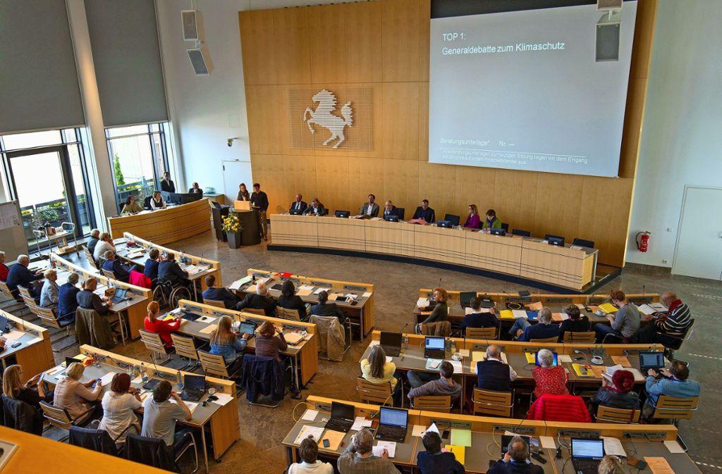 Wie sich der Gemeinderat künftig zusammensetzt, wird sich Anfang nächster Woche zeigen. Foto: