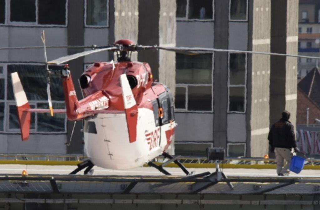 Bei dem tödlichen Hubschrauberunfall handelt es sich laut Ermittlern um einen Unglücksfall. Foto: 7aktuell.de/Eyb