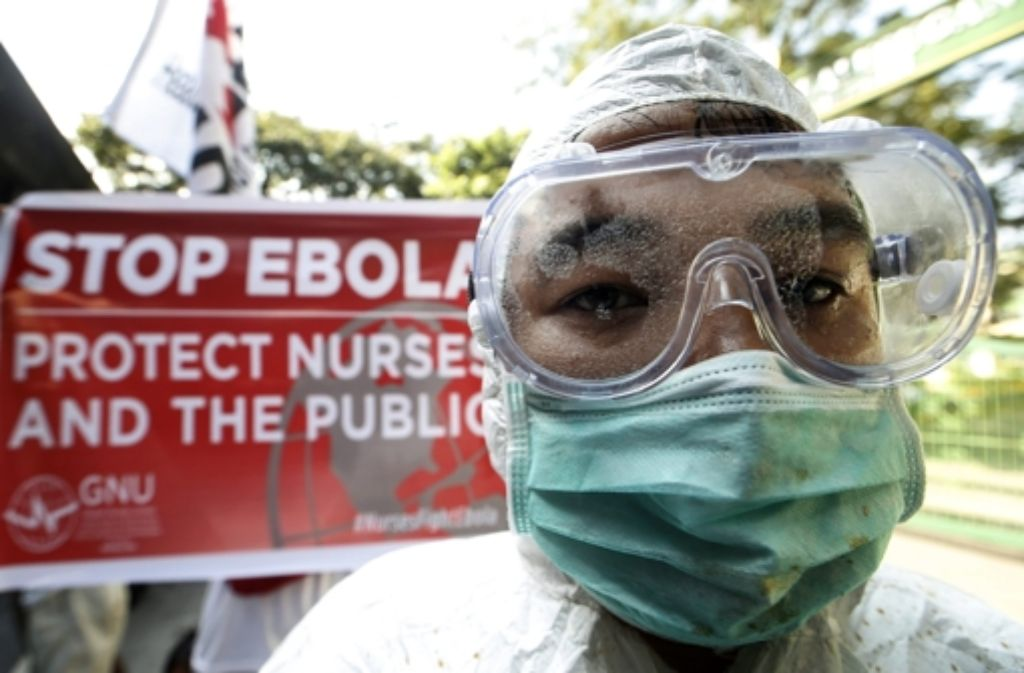 Ist die Ebola-Seuche eingedämmt? Foto: dpa