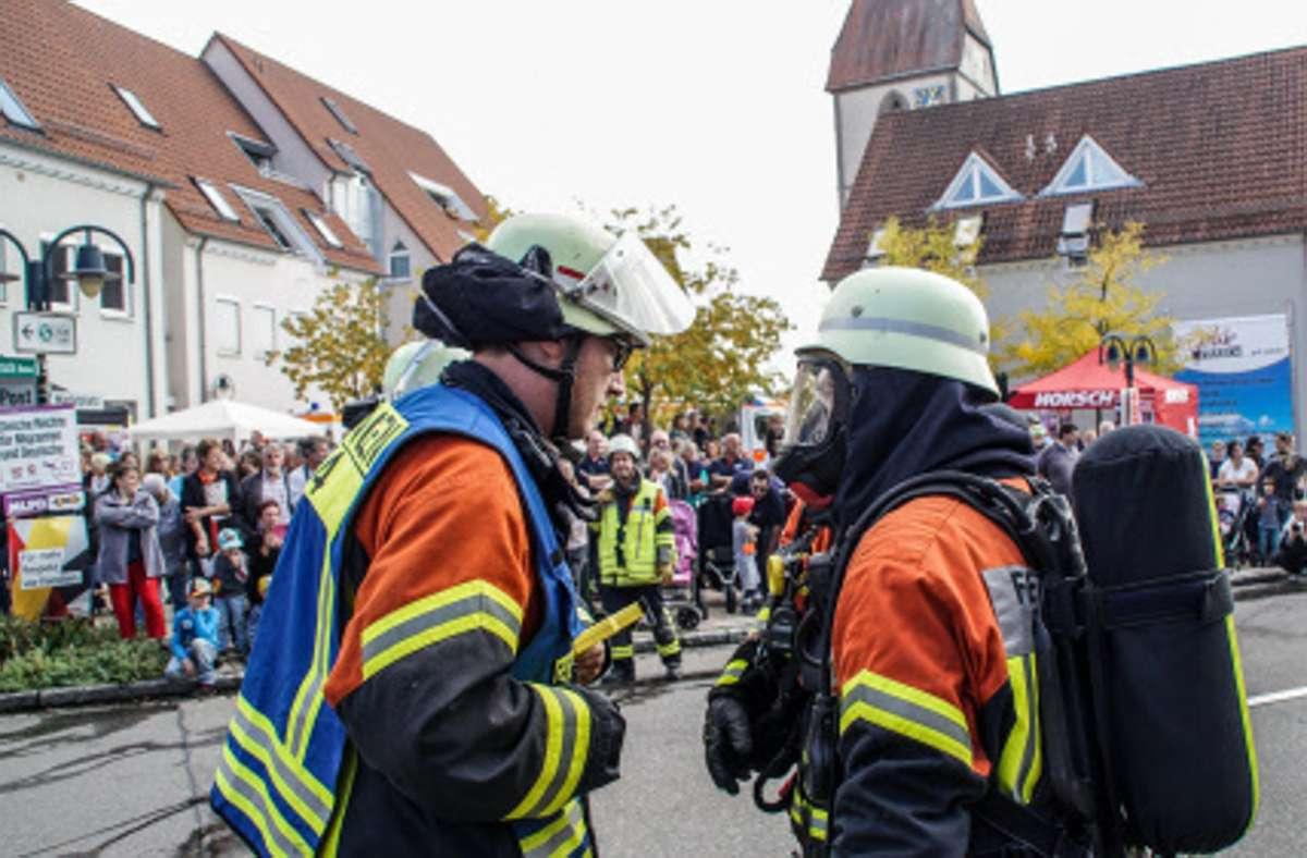 Die Ehninger Feuerwehr braucht dringend ein neues Domizil. Wenn sich der Gemeinderat nicht auf einen Standort verständigt, der bald umsetzbar ist, drohen Provisorien Foto: SDMG/Dettenmeyer