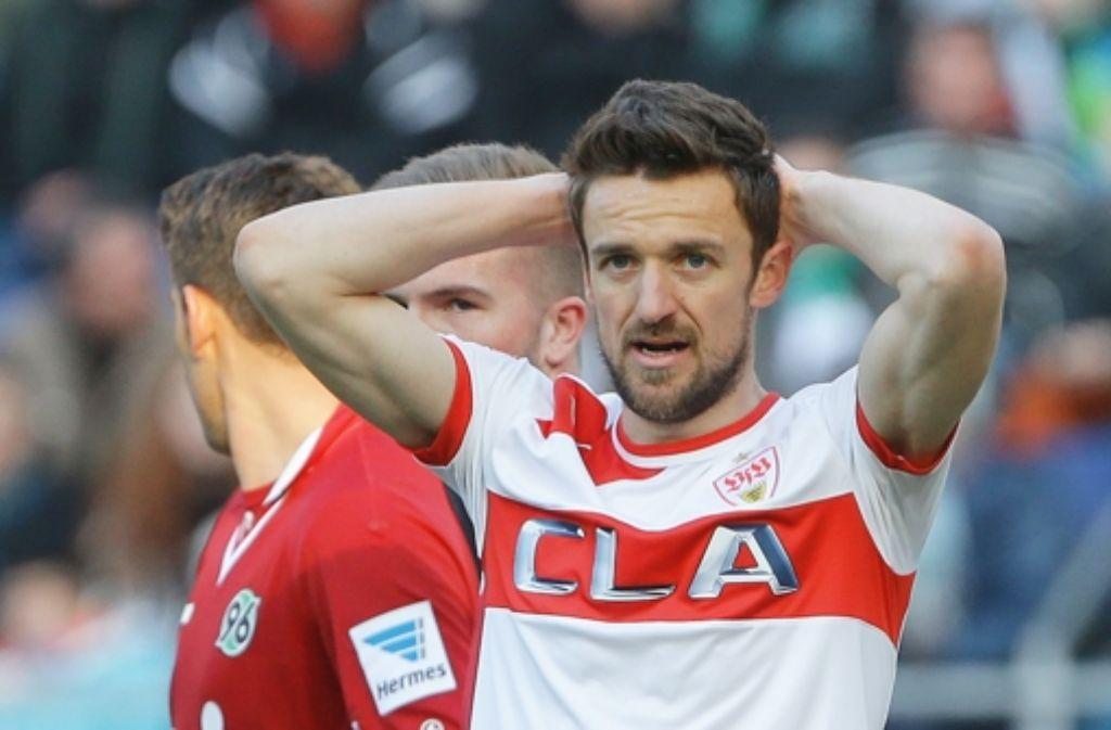 Christian Gentner und seinen Teamkollegen ist offensiv wenig gelungen. Foto: Baumann