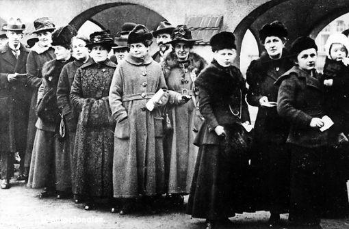 Frauen nehmen politischen Einfluss